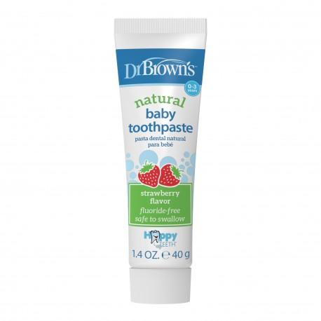 Pasta naturala de dinti pentru copii, aroma de capsuni