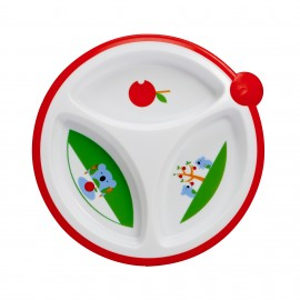 Farfurie compartimentata pentru bebelusi BPA Free (2 pack)