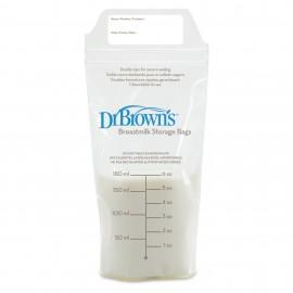 Pungi pentru stocarea laptelui matern (25 pack) 180 ml.