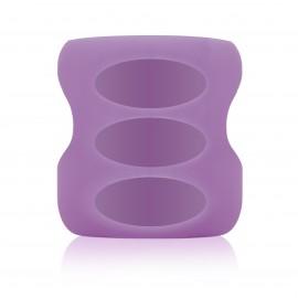 Protectie din silicon ptr. biberon din sticla cu Gat Larg 150 ml. Violet