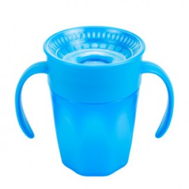 Canita cu manere, Cheers 360, 200 ml. Albastra, BPA Free
